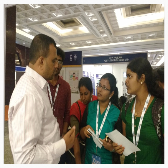 Our Director Interacting With students