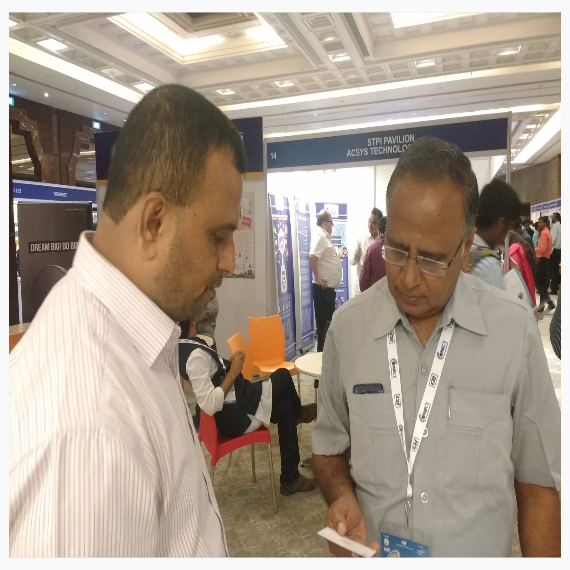 Interacting with Dr.v.Jayaprakash Dir -Industrial Connect,Sona college Of Technology ,Salem